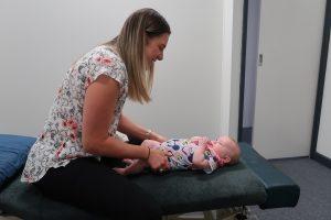 Chiropractor for baby Diamond Creek